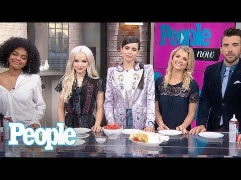 Sofia Carson, Dove Cameron, China Anne McClain Reveal Makeup Tips & Much More | People NOW | People