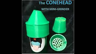 Conehead w Mini Grinder quick promo