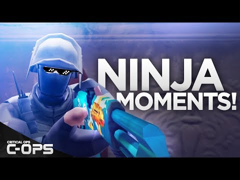 Critical Ops - Ninja Moments & Sneaky Defuses! C-OPS ft. Haast