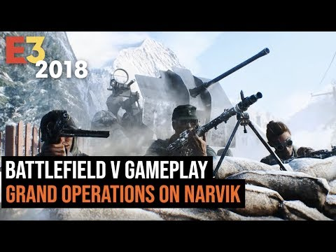 Battlefield V Gameplay - Grand Operations on Narvik