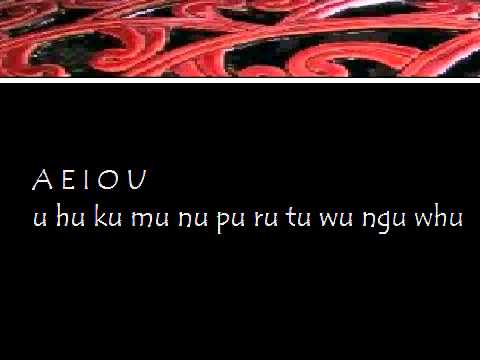 Maori Alphabet Arapū