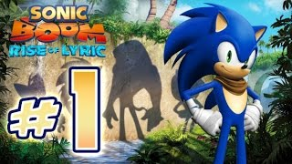 Sonic Boom : Rise of Lyric (WiiU) Gameplay No Commentary Walkthrough Part 1