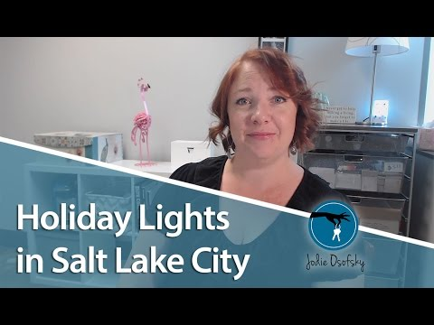 Salt Lake City Area Real Estate: Our favorite holiday light shows in Salt Lake City