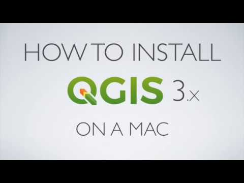 How to Install QGIS 3 on a Mac