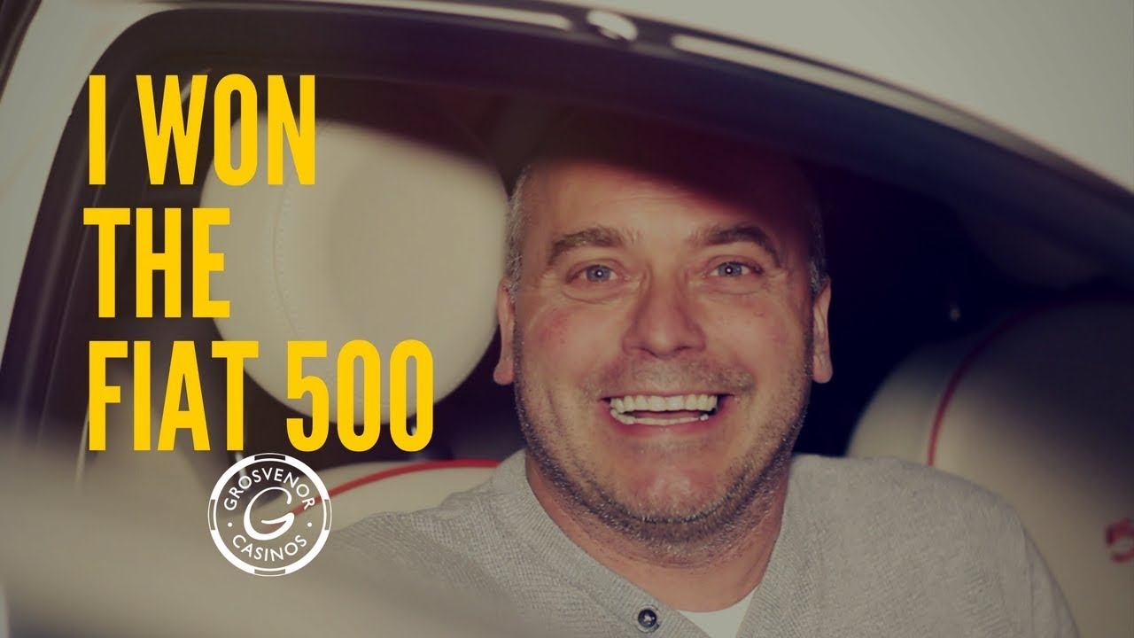 Fiat 500 Giveaway Grosvenor Casino Southampton