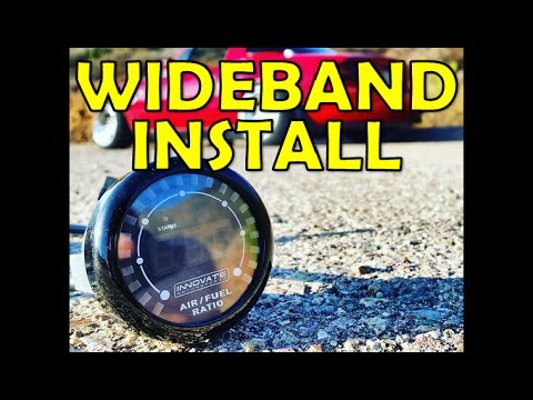 Sr20det Wiring Diagram Horse Trailer Electrical How To Install A Wideband O2 Sensor Broke Boosted Ep2 Youtube