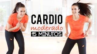 Cardio moderado | 15 minutos