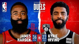 Harden, Kyrie Show Off Offensive Repertoire At Barclays