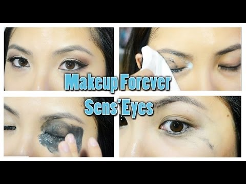 Makeup Forever Sens'Eyes Makeup Remover Review and Demo