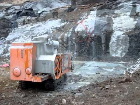 Diamond Wire Sawing Machine For Quarry Stone Cutting