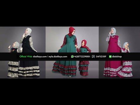 Baju Muslim Anak Perempuan Terbaru 2017 Koleksi Gamis Branded