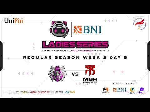 7 HEAVEN EMERALD VS MBR DELPHYNE | UNIPIN LADIES SERIES - REGULAR SEASON GAME 1 WEEK 3 DAY 5
