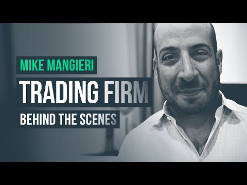 Behind the Scenes of an Equities Day Trading Firm · Mike Mangieri