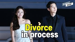Song Joong-ki files for divorce to end marriage with Song Hye-kyo