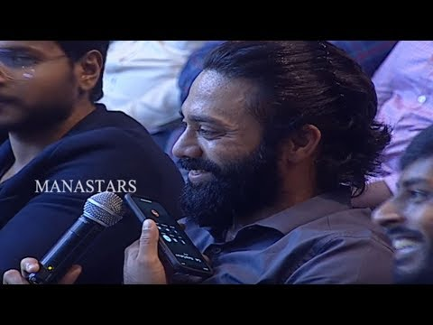 Navdeep Prank Call To Director Kunal Kohli @ Next Enti Movie Pre Release Event