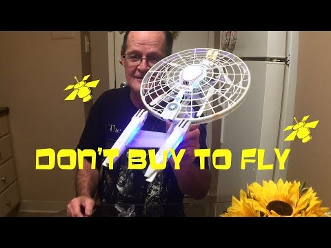Air Hogs Star Trek Drone Don't Buy to Fly