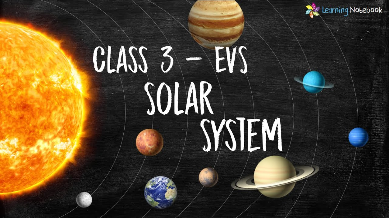 Download Class 3 EVS Solar System (Chapter - Universal Bodies) | NCERT - CBSE