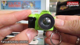 Creative Camera Led keychain with sound LED Flashlight Key ring Llavero Camara Luz Sonido Fancy Toy