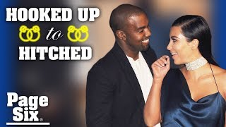How Kim Kardashian and Kanye West made it | Hooked Up to Hitched | Page Six
