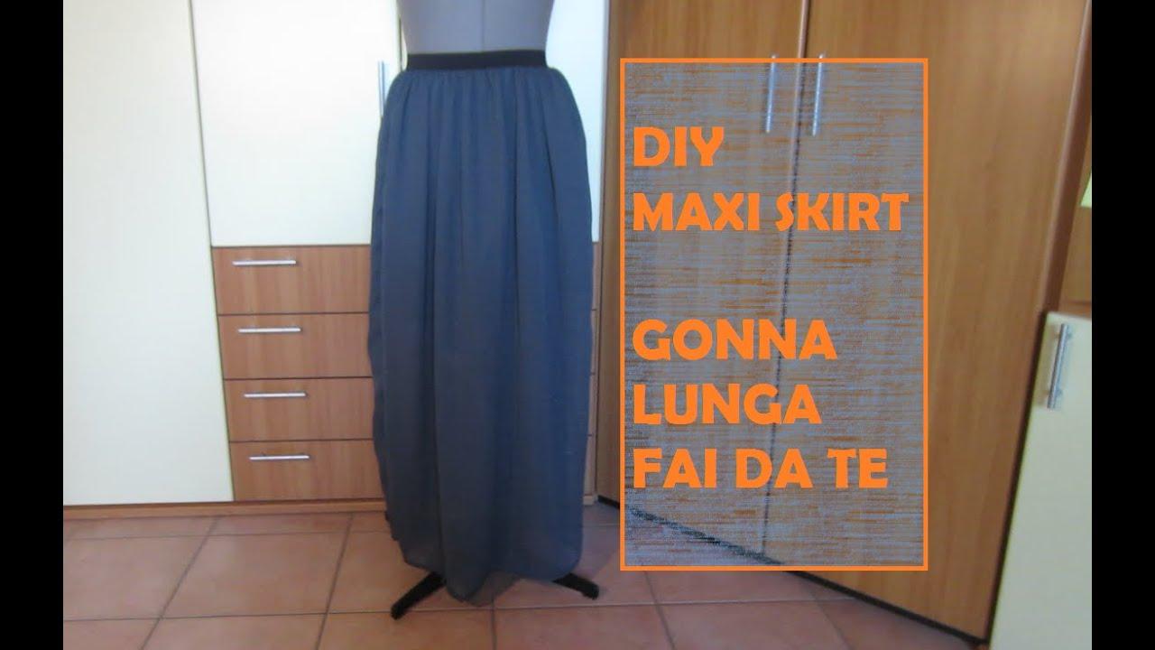 vasta selezione di bbcbe f6895 DIY maxi skirt - Fai da te gonna lunga (tutorial)