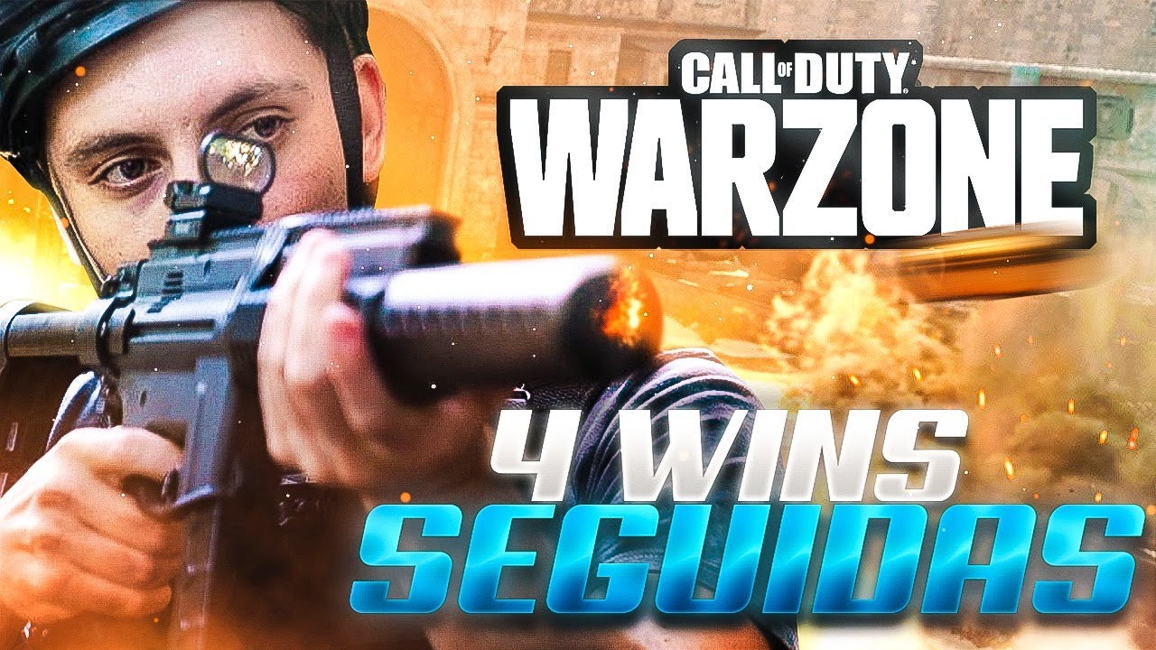 ¿COMO LOGRÉ 4 WINS seguidas EN CALL OF DUTY : WARZONE?