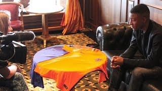 VOETBALSHOP.NL | Riechedly Bazoer's eerste indruk van het nieuwe Nike Vapor Nederlands elftal shirt