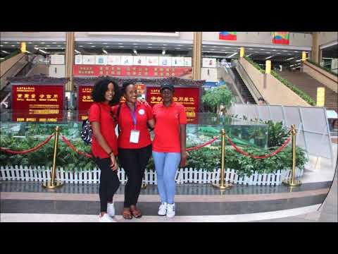 CI UDSM Chinese Summer Camp 2017 for Students from Tanzania at YIWU, SHANGHAI and ZHEJIANG China