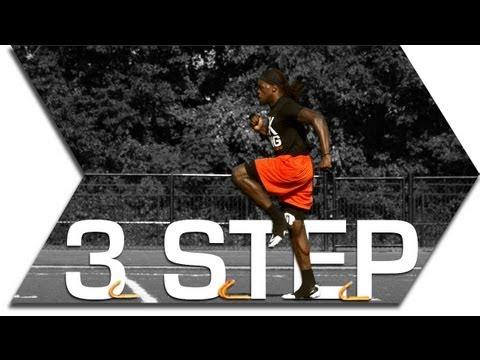 3 STEP  - MINI HURDLE SPEED DRILL