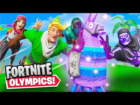 Fortnite Olympics Challenge w/ Fresh, Loserfruit & Creamy!
