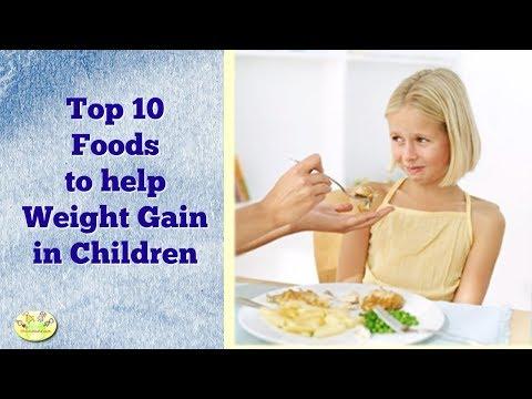 Top 10 Foods to Help Weight Gain in Children| Diet for Underweight Kids