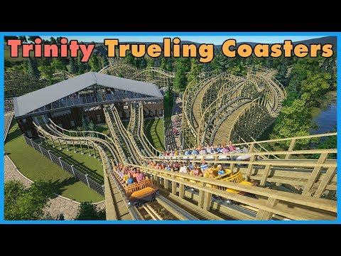 Trinity: Triple Trueling Wooden Coaster! Coaster Spotlight 327 #PlanetCoaster