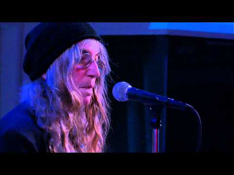 Patti Smith: Wild Leaves, Live on Spinning on Air in The Greene Space