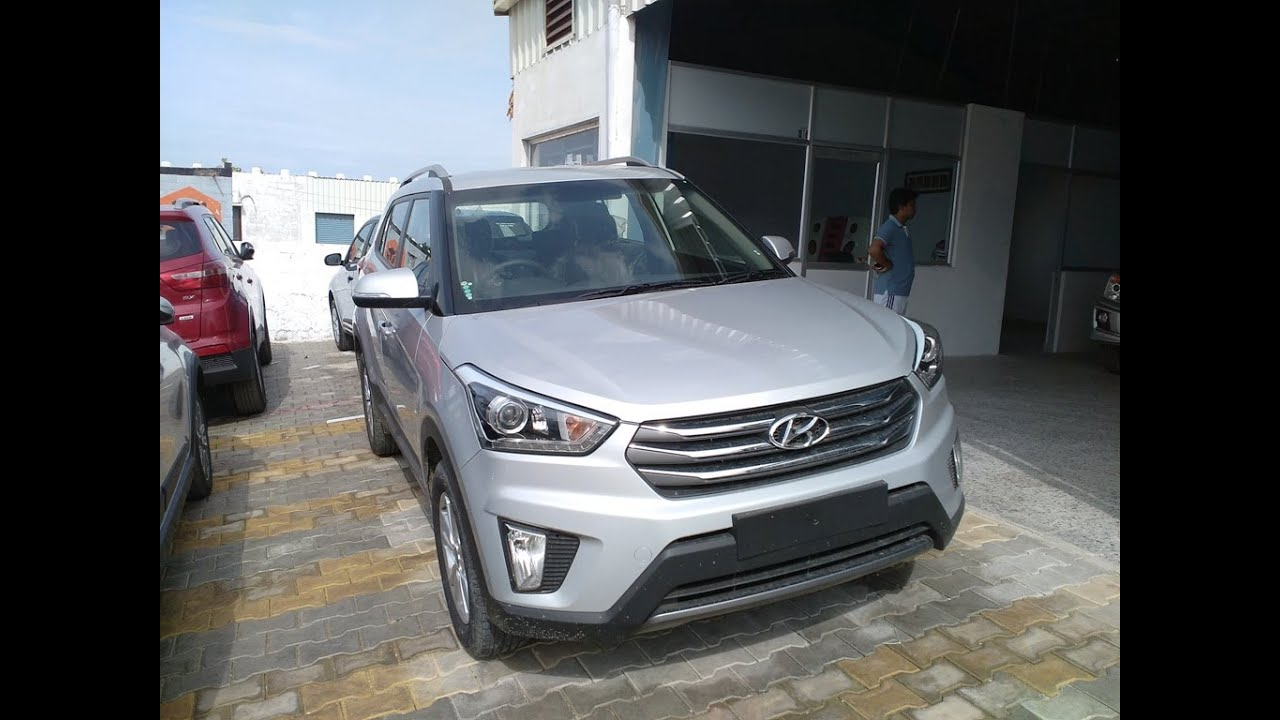 Creta 2017 White >> Hyundai Creta 2016 - 2017 Silver Color First Look | india | More On Description - YouTube