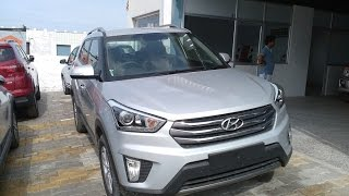 Hyundai Creta 2016 2017 Silver Color First Look india More On Description