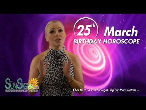 Birthday March 25th Horoscope Personality Zodiac Sign Aries Astrology