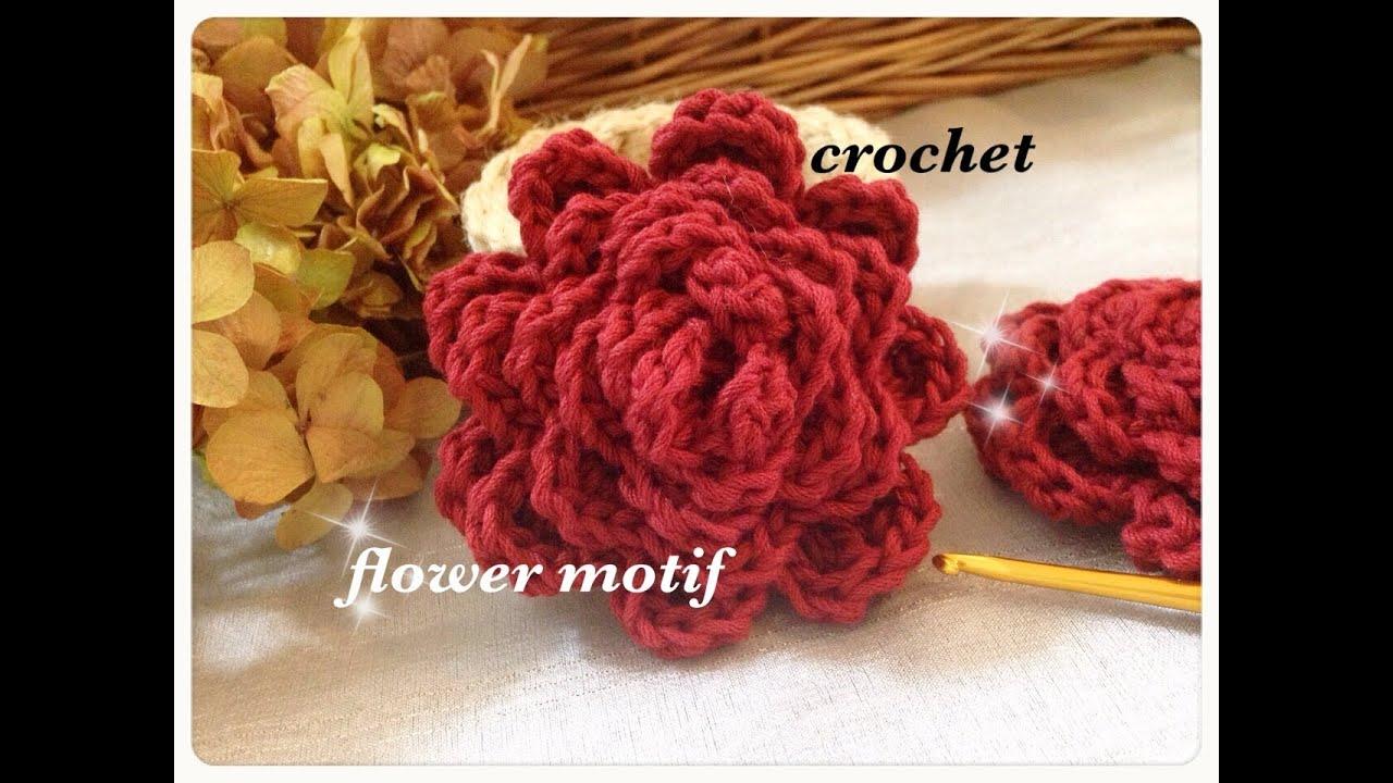 花の編み方とその種類は?簡単手編みの ...