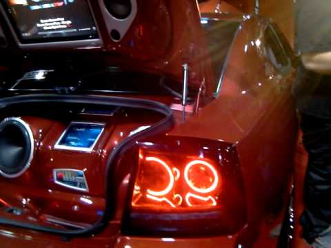 Tricked Out Charger At 2011 Auto Show In Philly Youtube