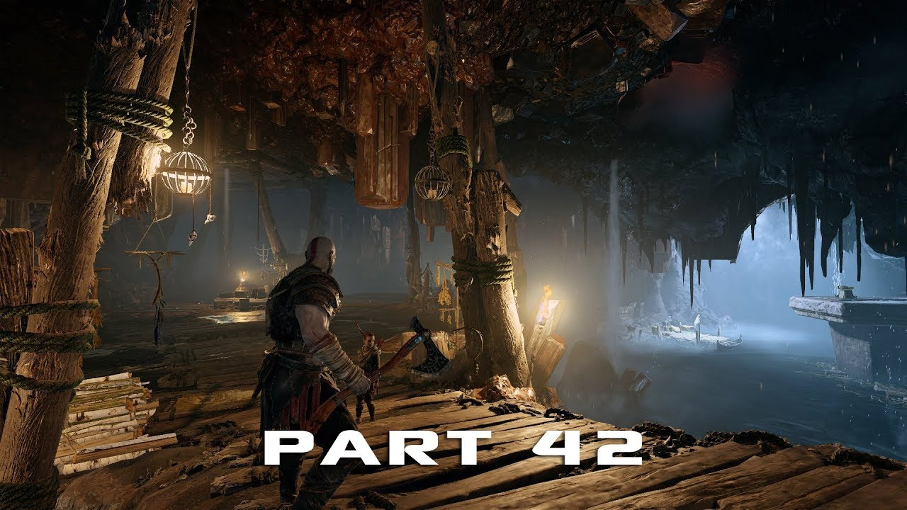 GOD OF WAR | Gameplay Walkthrough Part 42 - Jotunheim in Reach - BALDUR BOSS FINAL BATTLE