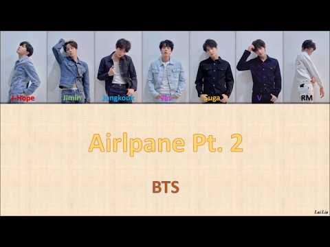BTS (방탄소년단) - 'Airplane Pt 2' Lyrics [Color Coded_Han_Rom_Eng]