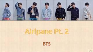 BTS (방탄소년단) - 'Airplane Pt 2' Lyrics [Color Coded_Han_Rom_Eng] Mp3