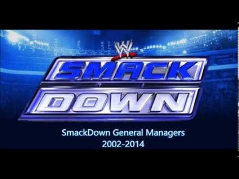SmackDown General Managers 2002-2014 - YouTube