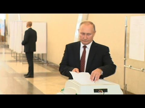 Russia votes in local elections   AFP