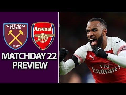 West Ham v. Arsenal | PREMIER LEAGUE MATCH PREVIEW | 1/12/19 | NBC Sports Mp3