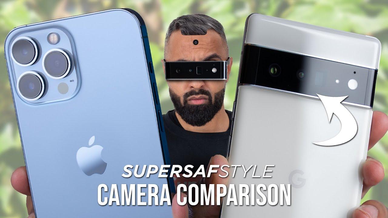 Download Google Pixel 6 Pro vs iPhone 13 Pro Max Camera Test Comparison