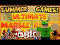 Roblox Summer Games - Ultimate Marble Rider!