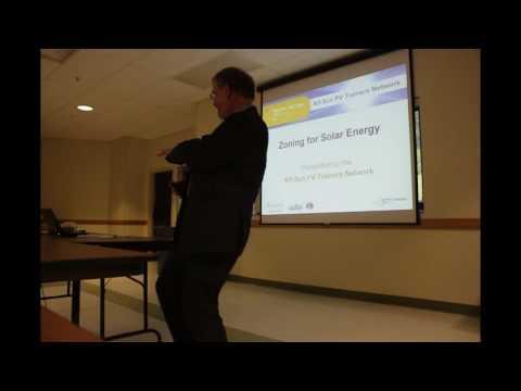 Solar Zoning Training PVTN Chenango NY
