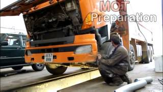Commercial Vehicle Repairs - Grove Haulage Services Ltd