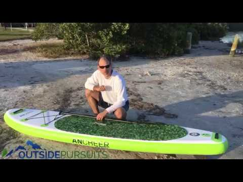 Ancheer Inflatable Paddleboard - YouTube 2bf46c4ae
