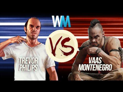Trevor Philips Vs Vaas Montenegro
