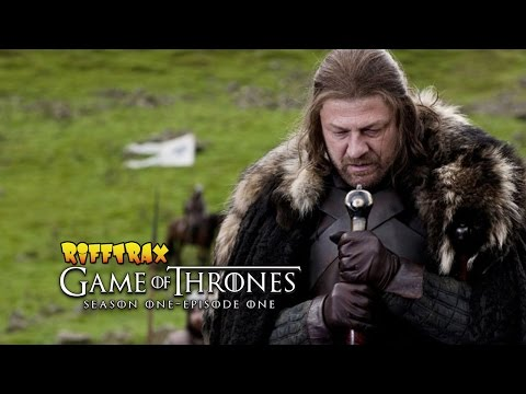 """RiffTrax: Game of Thrones S01E01 """"Winter is Coming"""" Free preview!"""